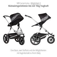mountain buggy terrain kombikinderwagen 2019 graphite carrycot plus 3