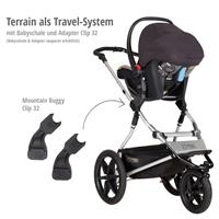 mountain buggy terrain kombikinderwagen 2019 graphite travel system