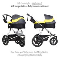 mountain buggy terrain kombikinderwagen 2019 onyx carrycot plus 1