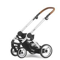 Kinderwagengestell | Mutsy Evo Kombikinderwagen | Urban Nomad Silber - Industrial Grey