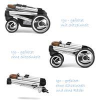 mutsy igo kinderwagen standard gestell gefaltet Ansichtsdetail 09