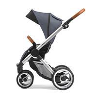 Sportwagen ab ca. 6 Monaten | Mutsy Evo Kombikinderwagen | Urban Nomad Silber - Industrial Grey