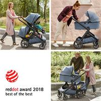 "Demi grow Kinderwagen mit Red dot Award ""Best of the Best"" ausgezeichnet"
