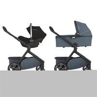 Nuna DEMI grow Kinderwagen | Aspen | Mit Babyschale & Tragewanne ab Geburt