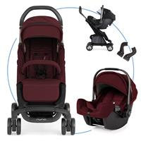 Nuna Pepp luxx Travel-Set mit Babyschale Pipa Berry