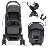 Nuna Pepp luxx Travel-Set mit Babyschale Pipa Graphite