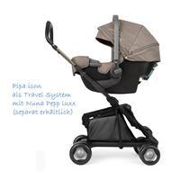 Nuna Pipa icon i-Size Babyschale mit PipaFix Basis 2016 Safari