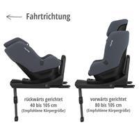 Nuna REBL plus i-Size 360° drehbarer Kindersitz ab Geburt bis 4 Jahre