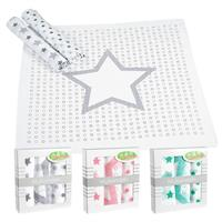 Odenwälder Cloth diaper Stars Polka dot Circles 3pcs