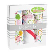 odenwaelder mullwindeln 3er pack in box 10084 herzen box Detailansicht 01