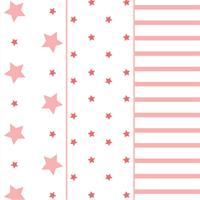 Odenwälder Windeln Stars stripes 3er Pack Light coral