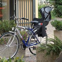 Fahrradsitz für Hinterrad Montage