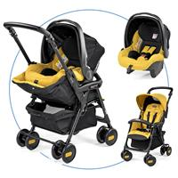 peg perego aria shopper mit babyschale 2016 mod yellow Hauptbild