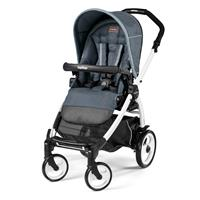 Peg Perego Book 51 Completo Blue Denim Gestell 51 Weiss Ohne Beindecke
