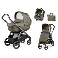 Peg Perego Book 51S jet Kinderwagen Trio-Set Breeze Khaki