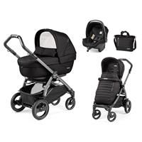 Peg Perego Book 51S jet Kinderwagen Trio-Set Breeze Noir