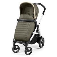 Peg Perego Book 51S weiß Kinderwagen Breeze Kaki