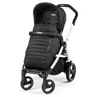 Peg Perego Book 51S weiß Kinderwagen Breeze Noir