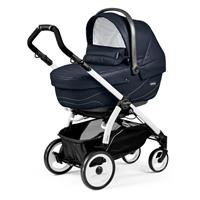Peg Perego Book 51 Sportivo Bloom Navy Gestell 51 Weiss Navetta
