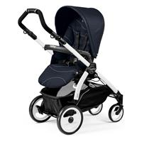 Peg Perego Book 51 Sportivo Bloom Navy Gestell 51 Weiss Rueckwaertsgerichtet