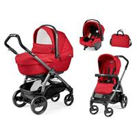 Peg Perego Book 51 Geo XL Modular 2018 Red Gestell Jet