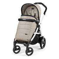 Peg Perego Book 51S Completo 2017 Luxe Beige Gestell 51S weiß