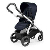 Peg Perego Book 51s Sportivo Bloom Navy Gestell 51s Weiss Rueckwaertsgerichtet
