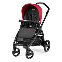 Peg Perego Book Plus Sportivo 2017 Bloom Red Gestell schwarz