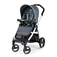 Peg Perego Book S Completo Blue Denim Gestell S Weiss Ohne Beindecke