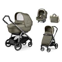Peg Perego Book S jet Kinderwagen Trio-Set Breeze Kaki