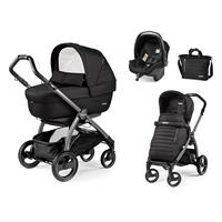 Peg Perego Book S jet Kinderwagen Trio-Set Breeze Noir