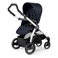 Peg Perego Book S Sportivo Bloom Navy Gestell S Weiss Rueckwaertsgerichtet