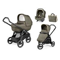 Peg Perego Book Scout Kinderwagen Trio-Set Breeze Kaki