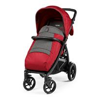 Peg Perego Booklet 50S Buggy mit Beindecke 2019 Vibes Red