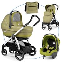Peg Perego Book S Modular XL weiß Green Tea