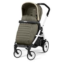 Peg Perego Book 51 weiß Kinderwagen Breeze Khaki