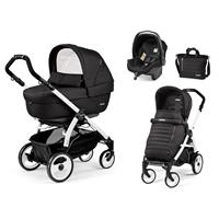 Peg Perego Book 51 weiß Kinderwagen Trio-Set Breeze Noir