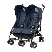 Peg Perego Pliko Mini Twin Zwillingsbuggy Class Navy