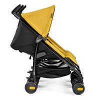 Peg Perego Pliko Mini Twin Mod Yellow Seite Liegefunktion