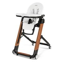 Peg Perego Siesta High Chair Wood Bianco Special Edition