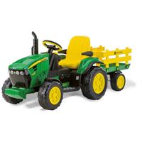 Peg-Perego Traktor John Deere Ground Force m. Anh.