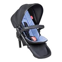phil&teds Double Kit inkl. Seat Liner Sitzauflage Design Sky