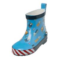 Playshoes rubber boots with half skirt building site