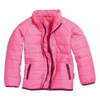 Schnizler Quilted Jacket uni Pink Size 68