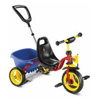 Puky CAT 1 S Dreirad Carry-Touring-Kipper rot