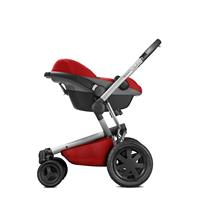 Quinny Buzz Xtra4 Kinderwagen-Set Red Rumour mit Pebble Babyschale