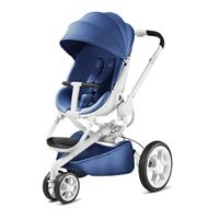 Quinny Push Chair Moodd Blue Base White