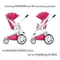 Quinny Moodd Kombikinderwagen mit Babywanne Pink Passion