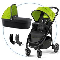 Recaro Citylife with Carrycot Lime