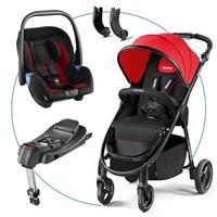 Recaro Citylife TravelSystem mit Babyschale Privia und Recaro Fix Basis Ruby